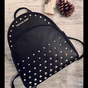 Michael Kors Abbey MD Studded Backpack